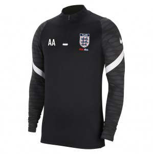 Nike Strike Drill Top (M) Black-Anthracite-White-White