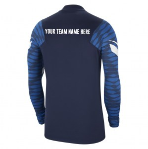 Nike Strike Drill Top (M) Obsidian-Royal Blue-White-White