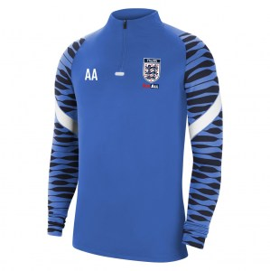 Nike Strike Drill Top (M) Royal Blue-Obsidian-White-White