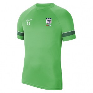 Nike Academy 21 Training Top (M) Lt Green Spark-White-Pine Green-White