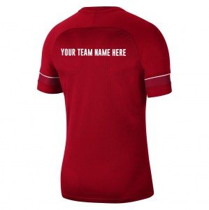 Nike Academy 21 Training Top (M) University Red-White-Gym Red-White