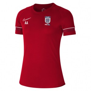 Nike Academy 21 Training Top (W) University Red-White-Gym Red-White