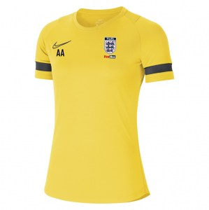 Nike Academy 21 Training Top (W) Tour Yellow-Black-Anthracite-Black