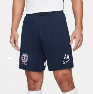 Nike Academy 21 Knit Training Shorts Obsidian-White-White-White