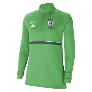 Nike Womens Academy 21 Midlayer (W) Lt Green Spark-White-Pine Green-White
