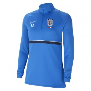 Nike Womens Academy 21 Midlayer (W) Royal Blue-White-Obsidian-White
