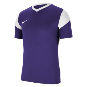 Nike Park Derby III Short-Sleeve Jersey Court Purple-White-White-White