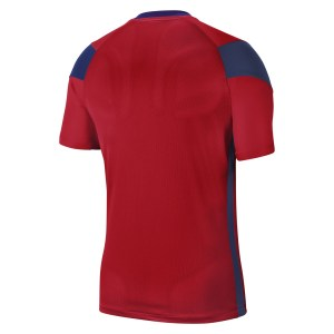 Nike Park Derby III Short-Sleeve Jersey University Red-Midnight Navy-White