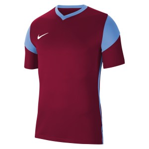 Nike Park Derby III Short-Sleeve Jersey Team Red-University Blue-White