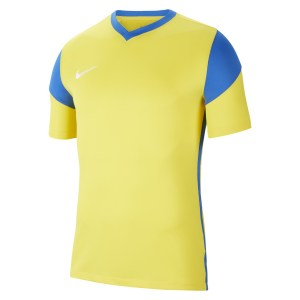 Nike Park Derby III Short-Sleeve Jersey Tour Yellow-Royal Blue-Royal Blue-White