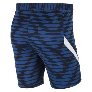 Nike Strike Knit Shorts (M) Obsidian-Royal Blue-White-White