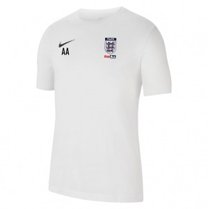 Nike Park 20 T-Shirt White-Black