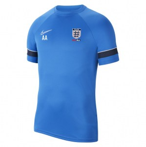 Nike Academy 21 Training Top (M) Royal Blue-White-Obsidian-White