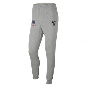 Nike Team Club 20 Fleece Pants (M) Dk Grey Heather-Black-Black