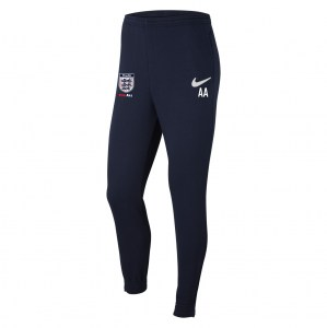 Nike Team Club 20 Fleece Pants (M) Obsidian-White-White
