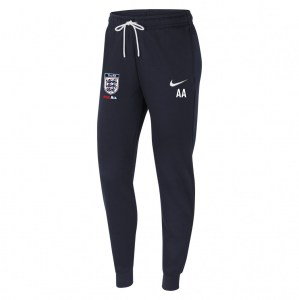 Nike Womens Team Club 20 Fleece Pants (W) Obsidian-White-White