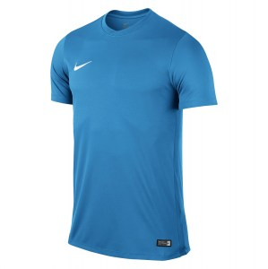 Nike Park VI Short Sleeve Shirt University Blue-White