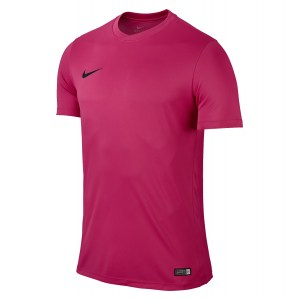 Nike Park VI Short Sleeve Shirt Vivid Pink-Black