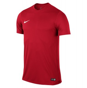 Nike Park VI Short Sleeve Shirt University Red-White