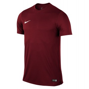 Nike Park VI Short Sleeve Shirt Team-Red-White