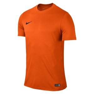 Nike Park VI Short Sleeve Shirt Safety Orange-Black