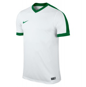 Nike Striker Iv Short Sleeve Shirt White-White-Pine Green-Pine Green