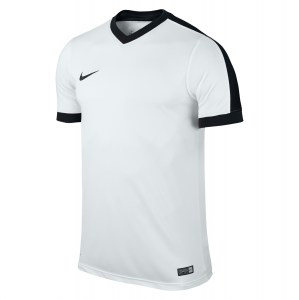Nike Striker Iv Short Sleeve Shirt White-White-Black-Black