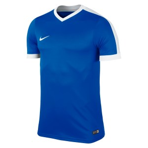 Nike Striker Iv Short Sleeve Shirt Royal Blue-Royal Blue-White-White