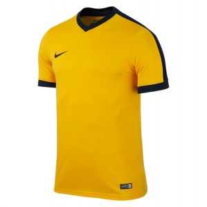 Nike Striker Iv Short Sleeve Shirt University Gold-University Gold-Black-Black
