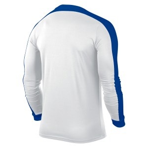 Nike Striker Iv Long Sleeve Football Shirt White-White-Royal Blue-Royal Blue