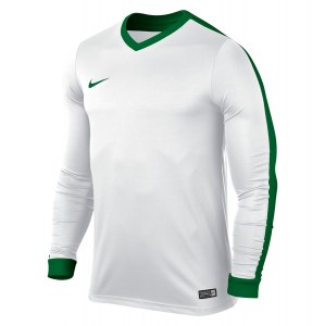 Nike Striker Iv Long Sleeve Football Shirt White-White-Pine Green-Pine Green