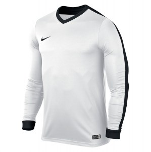 Nike Striker Iv Long Sleeve Football Shirt White-White-Black-Black