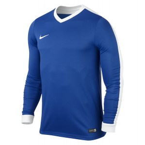 Nike Striker Iv Long Sleeve Football Shirt Royal Blue-Royal Blue-White-White