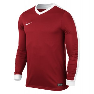 Nike Striker Iv Long Sleeve Football Shirt University Red-University Red-White-White