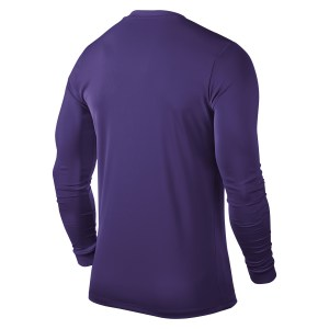 Nike Park VI Long Sleeve Football Shirt Court Purple-White