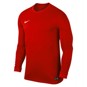 Nike Park VI Long Sleeve Football Shirt University Red-White