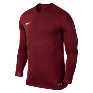 Nike Park VI Long Sleeve Football Shirt Team Red-White