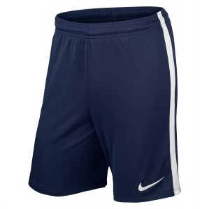Nike League Knit Short Midnight Navy-White-White