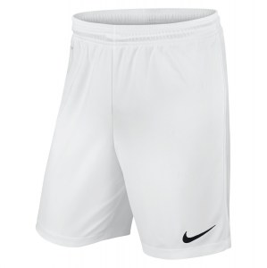 Nike Park II Knit Short White-Black