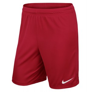 Nike Park II Knit Short University Red-White
