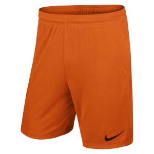 Nike Park II Knit Short Safety Orange-Black