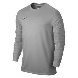 Nike Park II Long Sleeve Football Goalkeeper Shirt Matte Silver-Black-1-2160-294