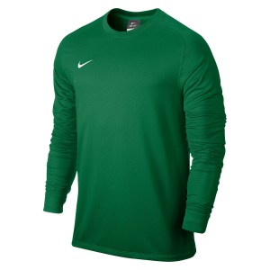 Nike Park II Long Sleeve Football Goalkeeper Shirt Pine Green-White-1