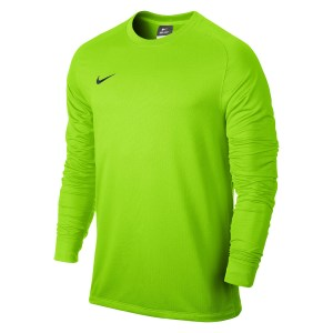 Nike Park II Long Sleeve Football Goalkeeper Shirt Electric Green-Black-1