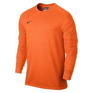 Nike Park II Long Sleeve Football Goalkeeper Shirt Total Orange-Black-1