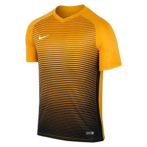 Nike Precision Iv Short Sleeve Shirt University Gold-Black-White