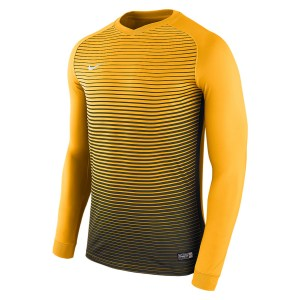 Nike Precision Iv Long Sleeve Football Shirt University Gold-Black-Black-White