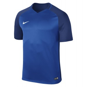 Nike Trophy III Short Sleeve Shirt Royal Blue-Deep Royal Blue-Deep Royal Blue-White