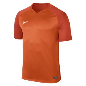 Nike Trophy III Short Sleeve Shirt Safety Orange-Team Orange-Team Orange-White