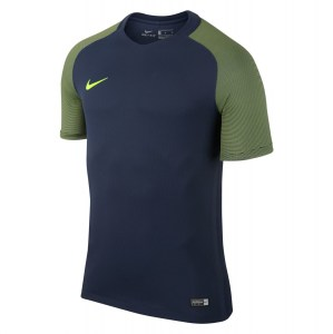 Nike Revolution Iv Short Sleeve Jersey Midnight Navy-Volt-Volt